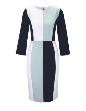 Klasikinė pastelinė suknelė
