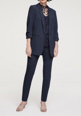 Women's trouser suit, marine