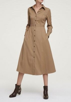 Shirt dress, oak