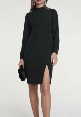 Shift dress, black