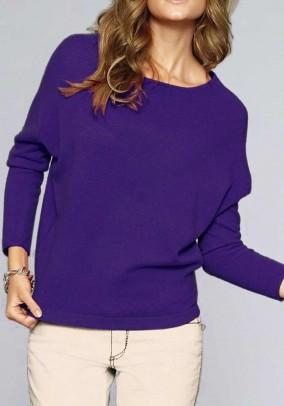 """Purpurinis kašmyro megztinis """"Sweet"""""""