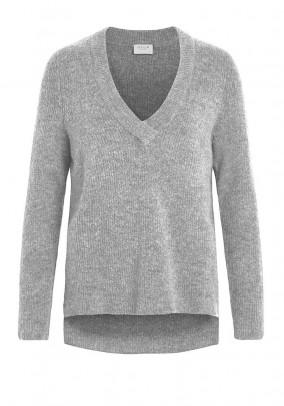 Pilkas vilnonis VILA megztinis