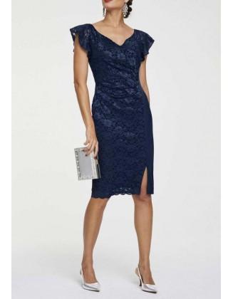 "Mėlyna kokteilinė suknelė ""Navy"""