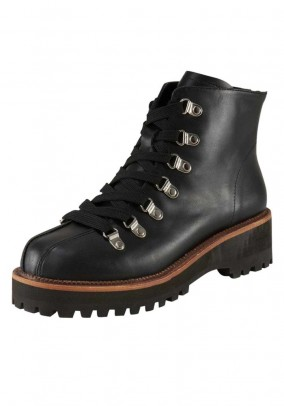 "Juodi odiniai batai ""Boots"""
