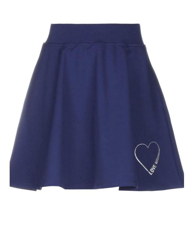 Mėlynas LOVE MOSCHINO sijonas