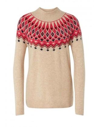 Kontrastingas Tom Tailor megztinis su vilna