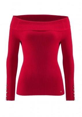 Raudonas Guido Maria Kretschmer megztinis