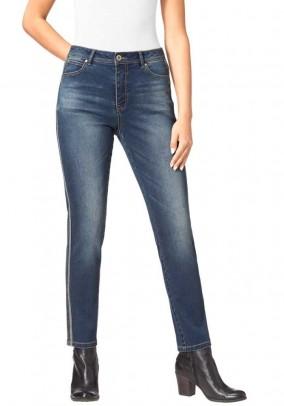 Denim jeans, dark blue - used