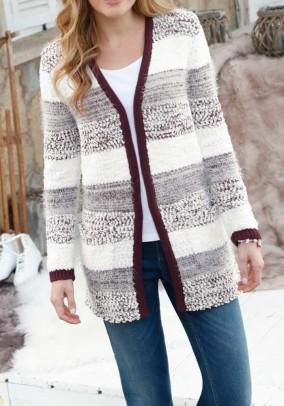 Šviesus dryžuotas Witt Weiden megztinis