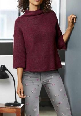 Sweater, bordeaux blend
