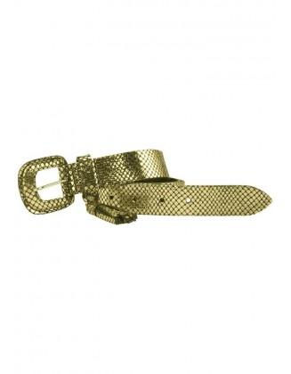 Odinis aukso spalvos diržas