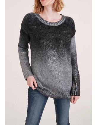 "Pilkas megztinis ""Ombre"""