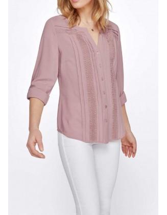 Rausvi Création L marškiniai