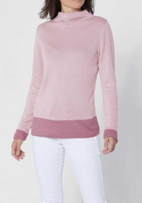 Luxurious comfort sweater, rose