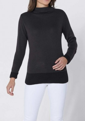 Comfort sweater, grey
