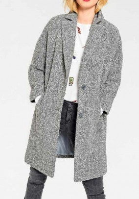 Wool coat, grey