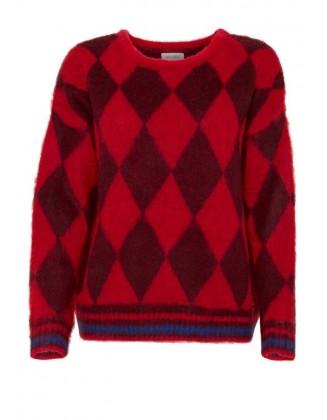 Raudonas Blend She megztinis