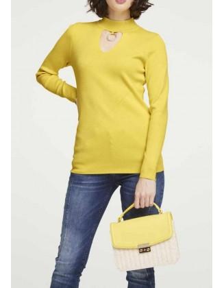 """Geltonas megztinis """"Heine"""""""
