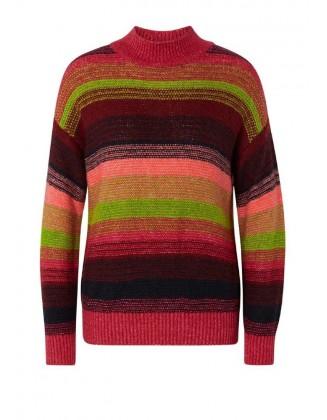 Dryžuotas Tom Tailor megztinis su vilna