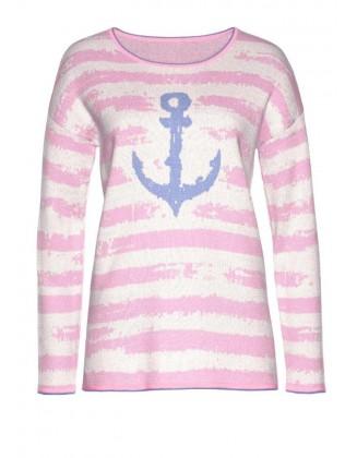 Rausvas Cheer megztinis