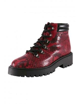 """Raudoni odiniai batai """"Snacke"""""""