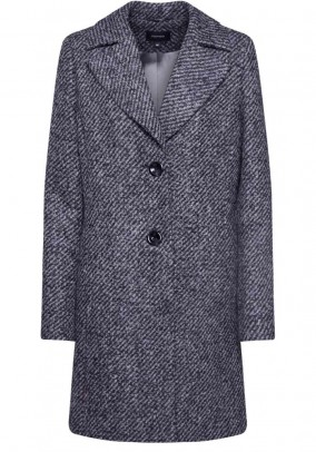 Coat, grey-black