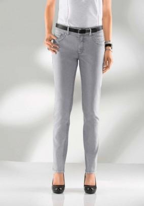 Denim trousers, light grey