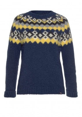 Sweater, blue-multicolour