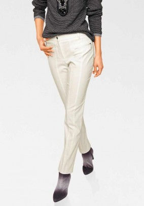 Thermal trousers, offwhite
