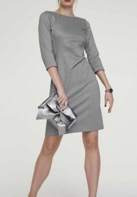 Didesnio dydžio pilka suknelė