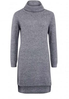 Knit dress, grey blend