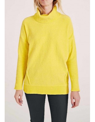 "Geltonas megztinis ""Turtle"""