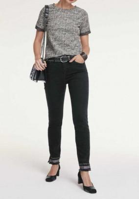 Optimizing jeans, black
