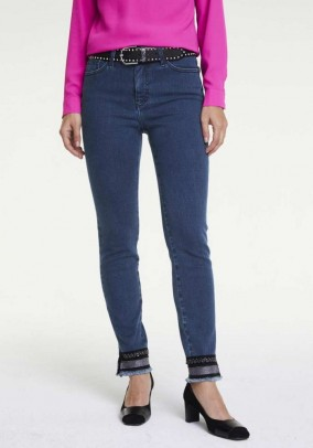 """Mėlyni džinsai """"Aleria"""". Liko 40 dydis"""
