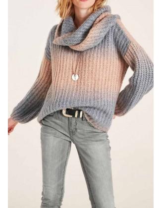 "Oversize stiliaus megztinis ""Ombre"""