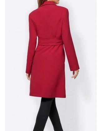 Plonas raudonas paltukas