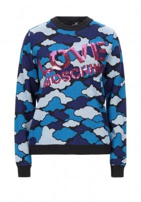 Vilnonis LOVE MOSCHINO megztinis