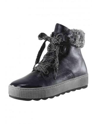 Odiniai GABOR batai su kailiuku