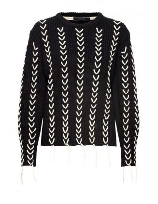 Ekstravagantiškas SCOTCH & SODA megztinis