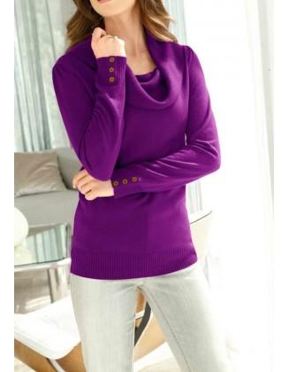 Purpurinis Fair Lady megztinis