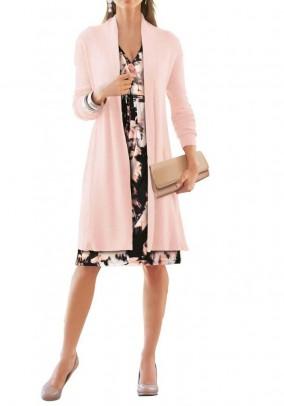 Knit coat, rose