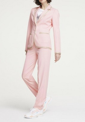 Women's suit, rose