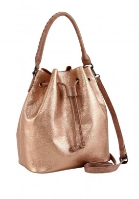 Bag, rose gold