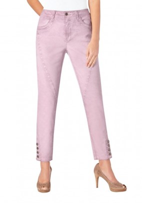 Stretch trousers, rose
