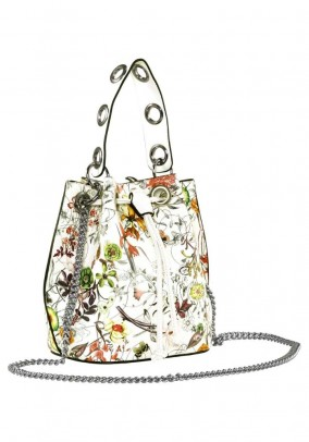 Bag, white-multicolour