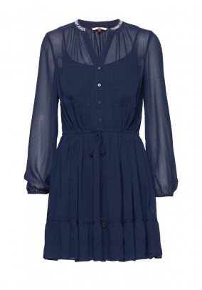 Tommy Jeans mėlyna suknelė
