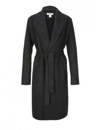 Eko odos juodas paltas