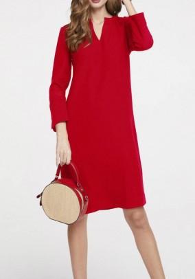 Ryškiai raudona suknelė. Liko 38 dydis
