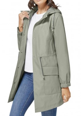 Rain coat, mint