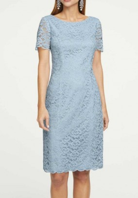 Lace dress, blue
